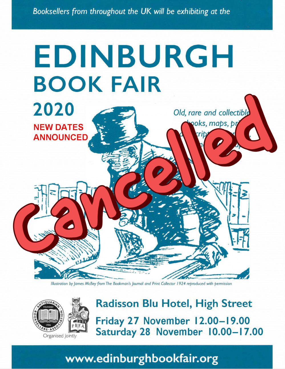 cancelled nov fair