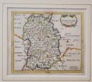Shropshire_John Seller_1695_hand coloured