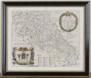 Richard Blome - 'A Mapp of the County of Northampton with its Hundreds' - Lot 124 - Toovey's 28.10.20