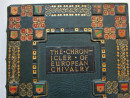 THE CHRONICLER OF EUROPEAN CHIVALRY Stunning Signed LEATHER BINDING (6)
