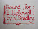 THE CHRONICLER OF EUROPEAN CHIVALRY Stunning Signed LEATHER BINDING (10)