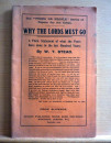 7. Why the Lords must go