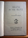 8. Death in the Blitz
