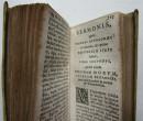 1629 UTOPIA by Sir Thomas More MINIATURE BOOK in original Vellum Binding LATIN (10)
