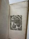 1629 UTOPIA by Sir Thomas More MINIATURE BOOK in original Vellum Binding LATIN (11)